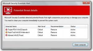 Fake Virus Alert